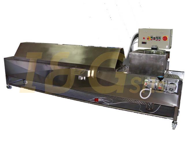 pastorizzatore da 5 mt macchina per pasta - I&G