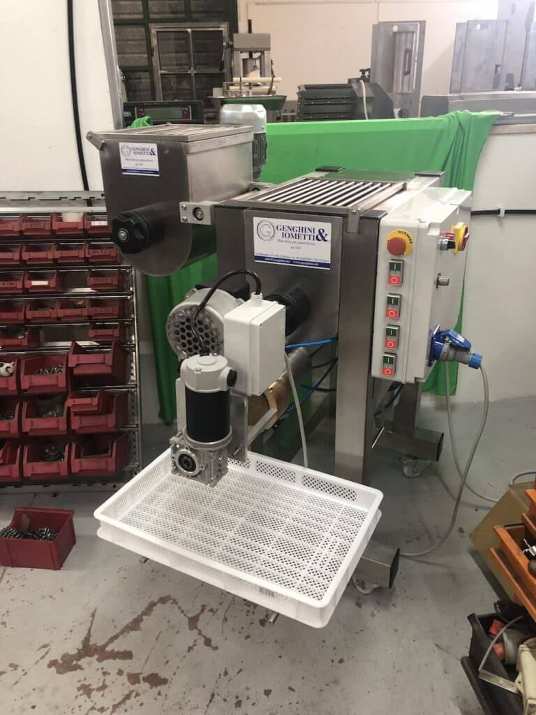IP-60 our pasta press for little laboratories