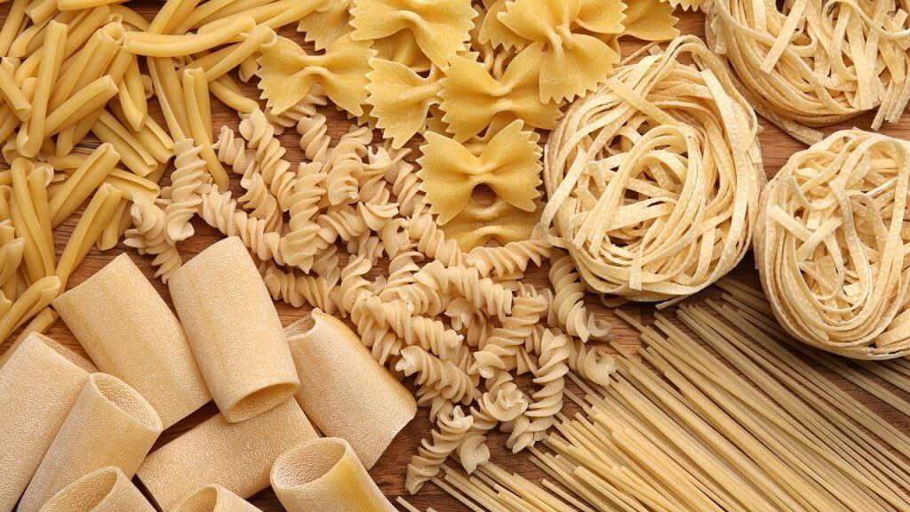 vari tipi di pasta che possiamo realizzare con le nostre macchine per pasta