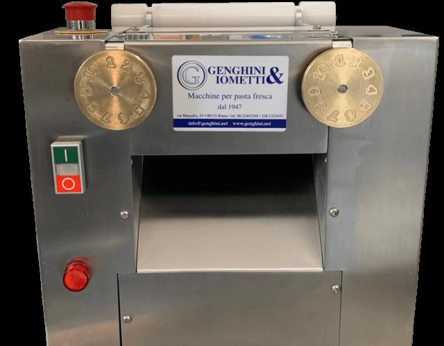 spianatrice o calibratrice per pasta fresca nuovo modello 2019